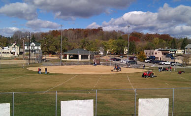 View of Slinger Field Makeover